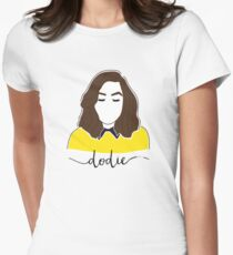 Dodie Clark Portrait (doddleoddle) Women's Fitted T-Shirt