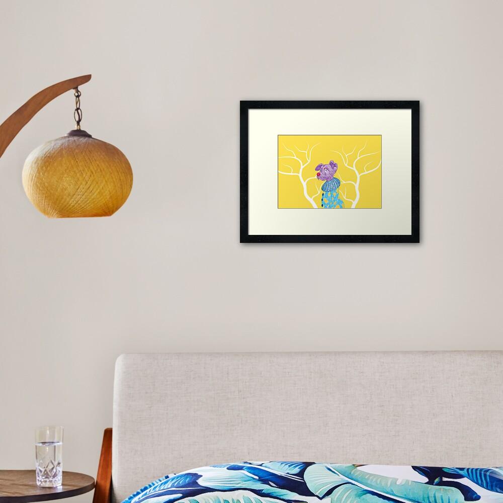 Yorkia Framed Art Print