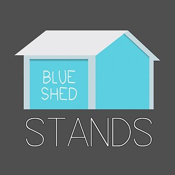 Blue Shed Stands by Switch01