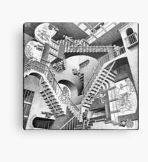 MC Escher Metal Print