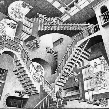 MC Escher de moviesncartoons