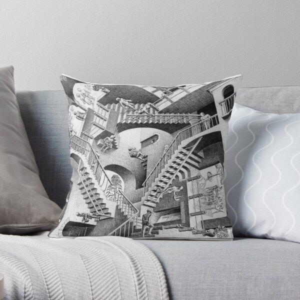 MC Escher Throw Pillow