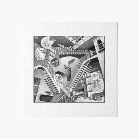 MC Escher Art Board Print