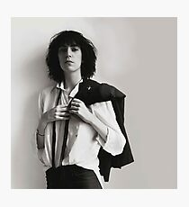 Patti Smith Photographic Print