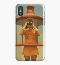 Moonrise Kingdom casttle iPhone Case/Skin