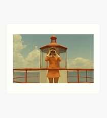 Moonrise Kingdom casttle Art Print