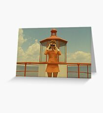 Moonrise Kingdom casttle Greeting Card