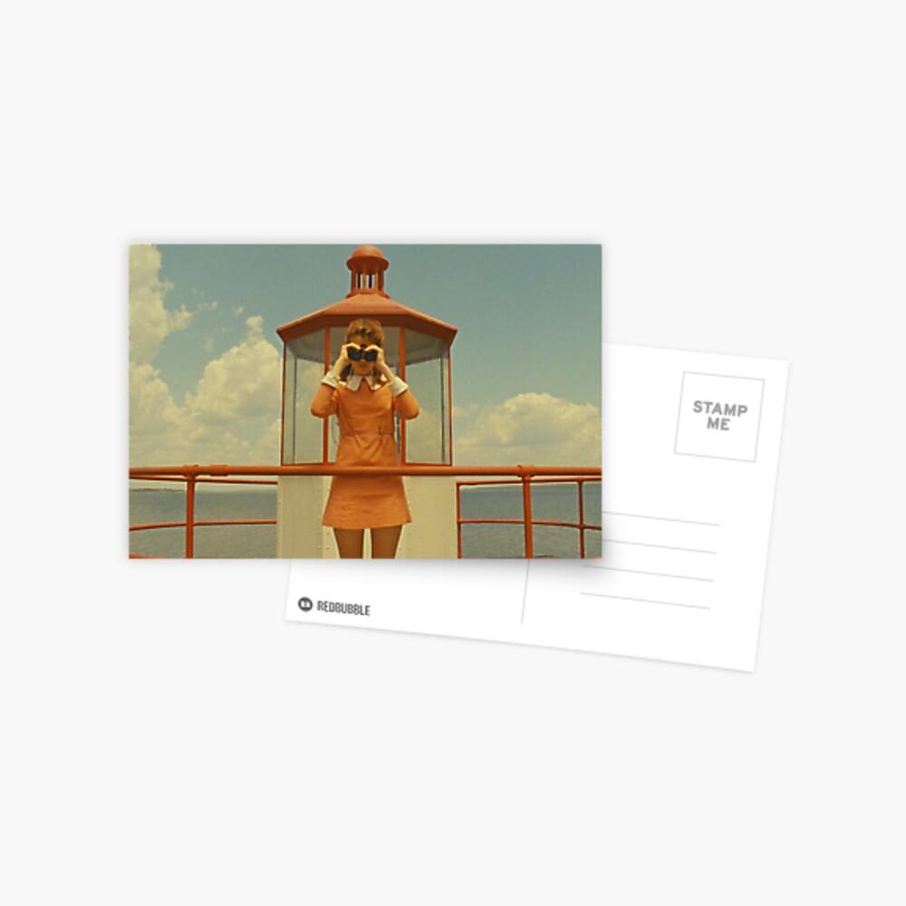 Moonrise Kingdom casttle Postcard