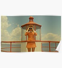 Moonrise Kingdom casttle Poster