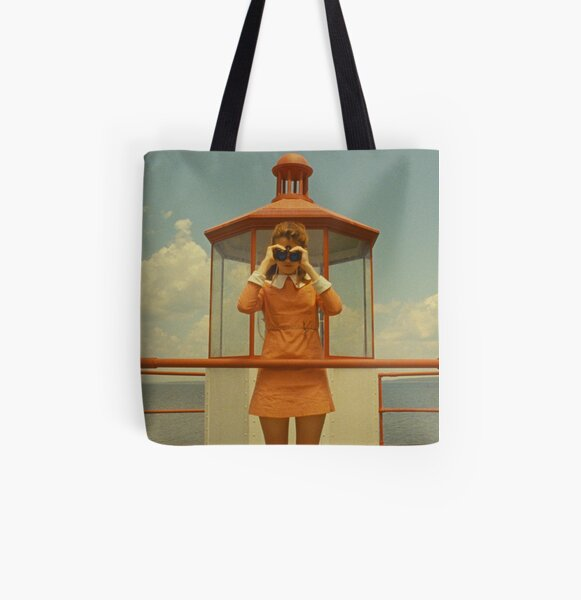 Moonrise Kingdom casttle All Over Print Tote Bag