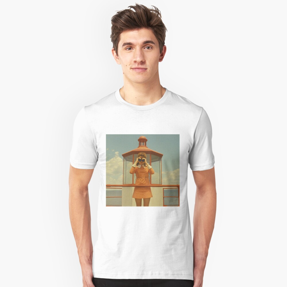 Moonrise Kingdom casttle Camiseta unisex