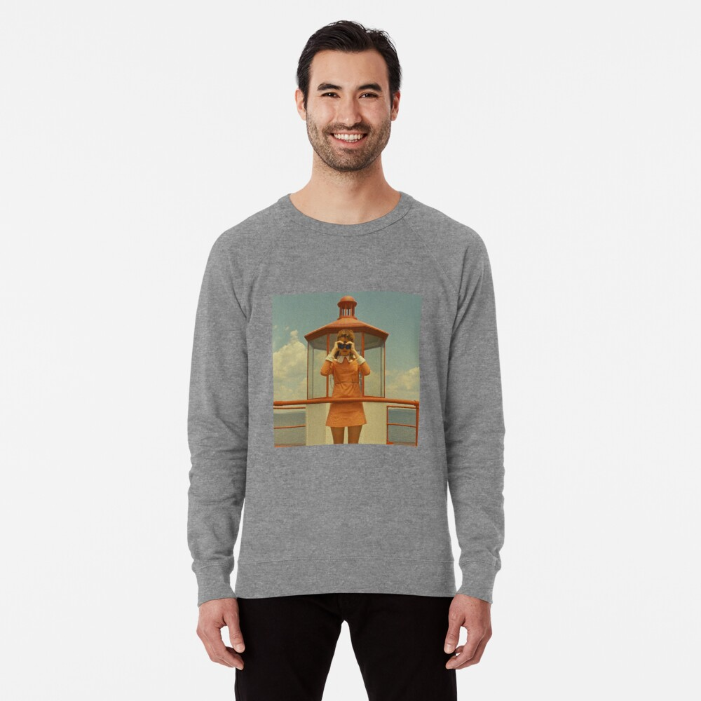 Moonrise Kingdom casttle Sudadera ligera