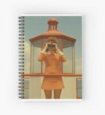 Moonrise Kingdom casttle Spiral Notebook