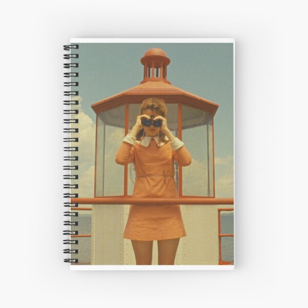 Moonrise Kingdom casttle Spiral Notebook