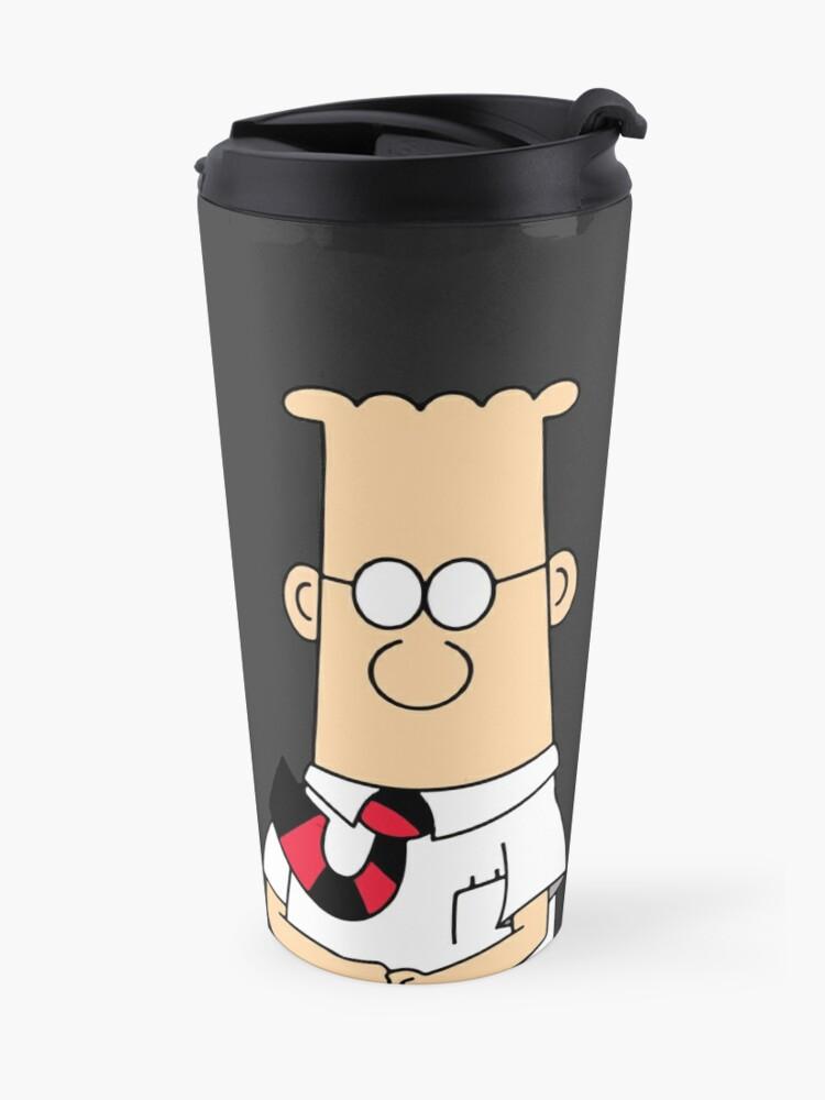 Alternate view of Dilbert Travel Mug