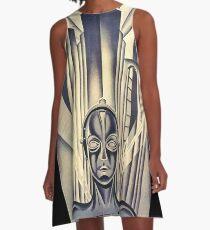 Metropolis A-Line Dress
