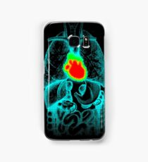 Burning Heart Samsung Galaxy Case/Skin