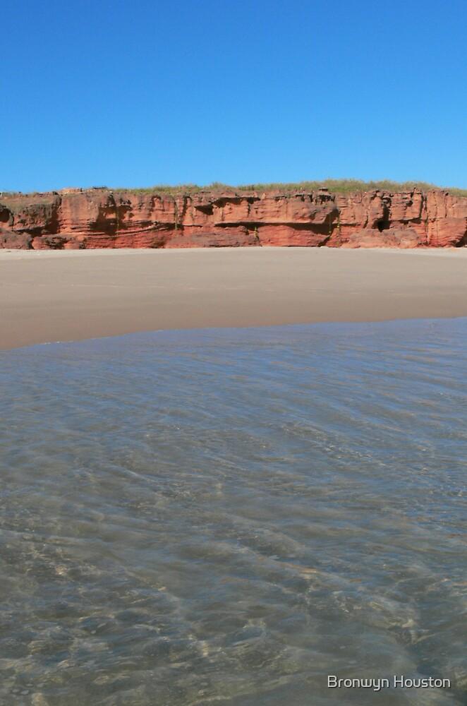 Tranquil Beach by Bronwyn Houston