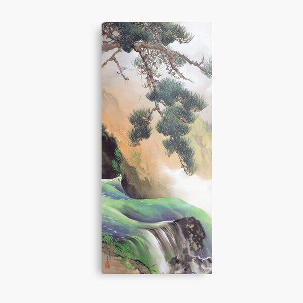 Yamamoto Shunkyo - Spring of Mountain, 1933 Metal Print