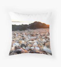 Shells at Sunset Throw Pillow