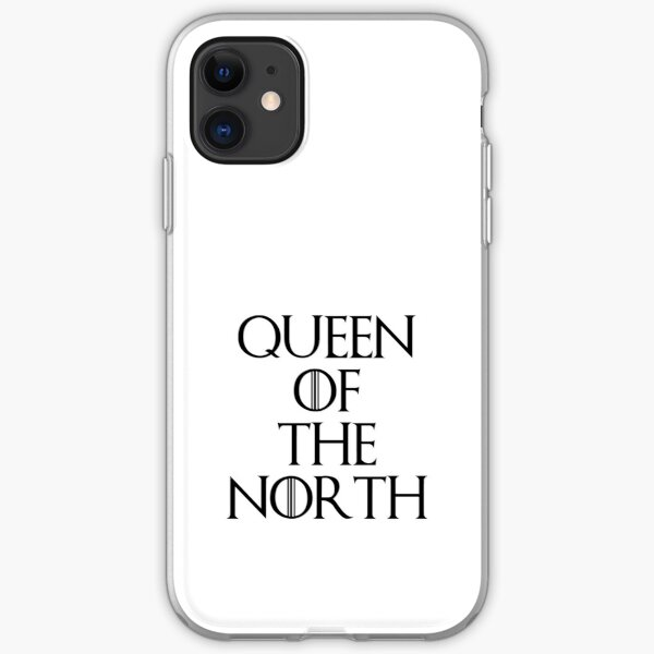 Queen Of The North iPhone Soft Case