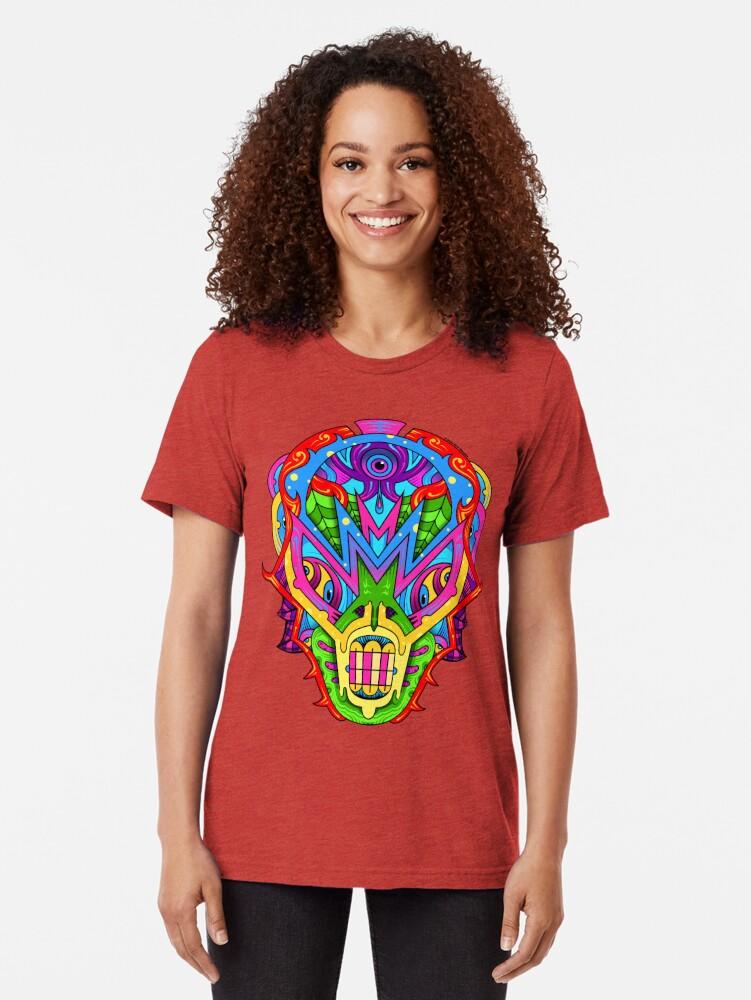 Alternate view of Mista Monsta! Tri-blend T-Shirt