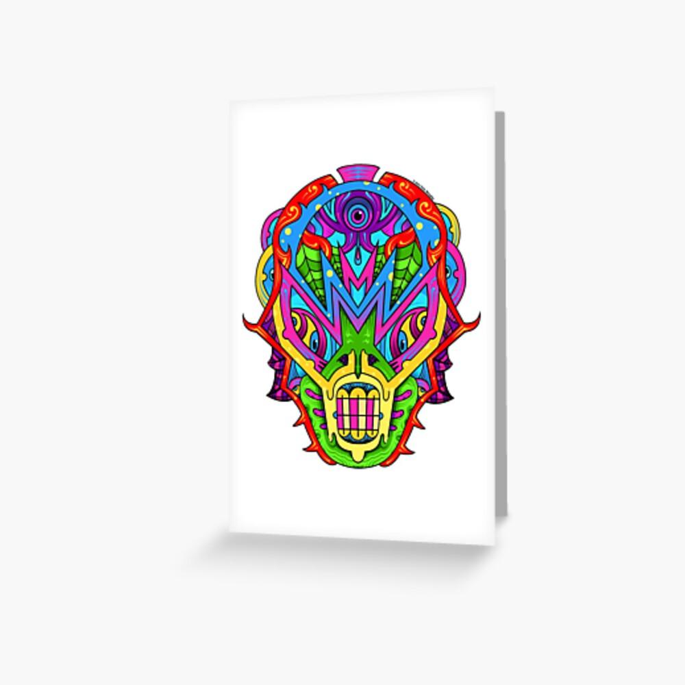 Mista Monsta! Greeting Card