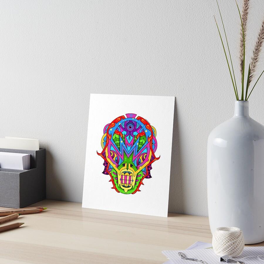 Mista Monsta! Art Board Print