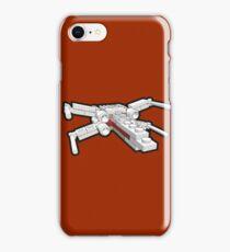 X-wing in bricks iPhone Case/Skin