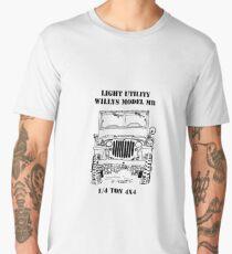 Light Utility Willys Model MB Jeep (1) Men's Premium T-Shirt