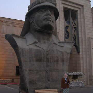 Bust of Saddam Hussein by martina