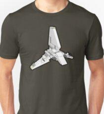 Imperial Shuttle in Bricks T-Shirt