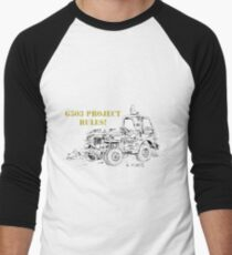 G503 jeep project rules! Men's Baseball ¾ T-Shirt