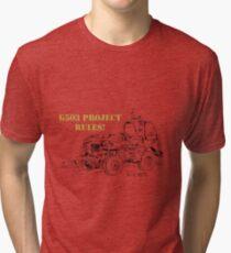 G503 jeep project rules! Tri-blend T-Shirt