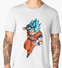 Dragon Ball Super - Goku Super Saiyan Blue Men's Premium T-Shirt