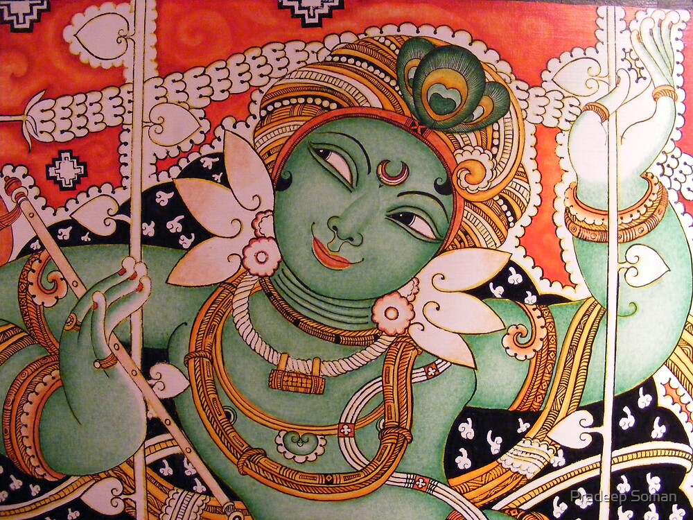 Wall Paintings by Pradeep Soman
