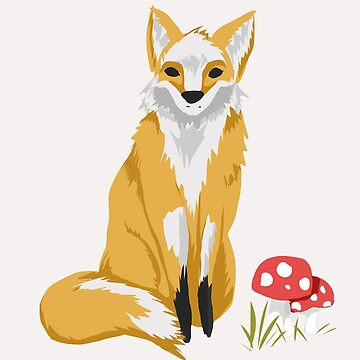 Woodland fox by JessdeM