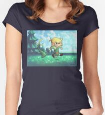 Minish Cap Women's Fitted Scoop T-Shirt