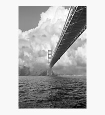 Bridge through clouds Photographic Print
