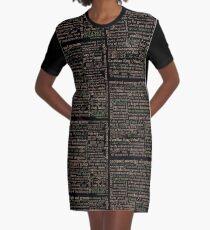 Shakespeare Beleidigungen dunkel - überarbeitete Ausgabe (von incognita) T-Shirt Kleid