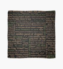 Shakespeare Insults Dark - Revised Edition (by incognita) Scarf