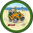 CJ5 jeep at the beach! (1) by RFlores