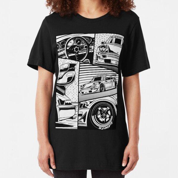 RWB 964. Details Slim Fit T-Shirt