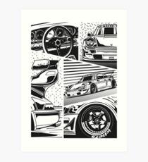 RWB 964. Fragments Art Print
