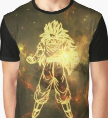 Dragon Ball - Goku Super Saiyan 3 Galaxy Graphic T-Shirt