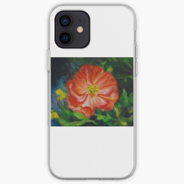 Peach Hibiscus iPhone Soft Case