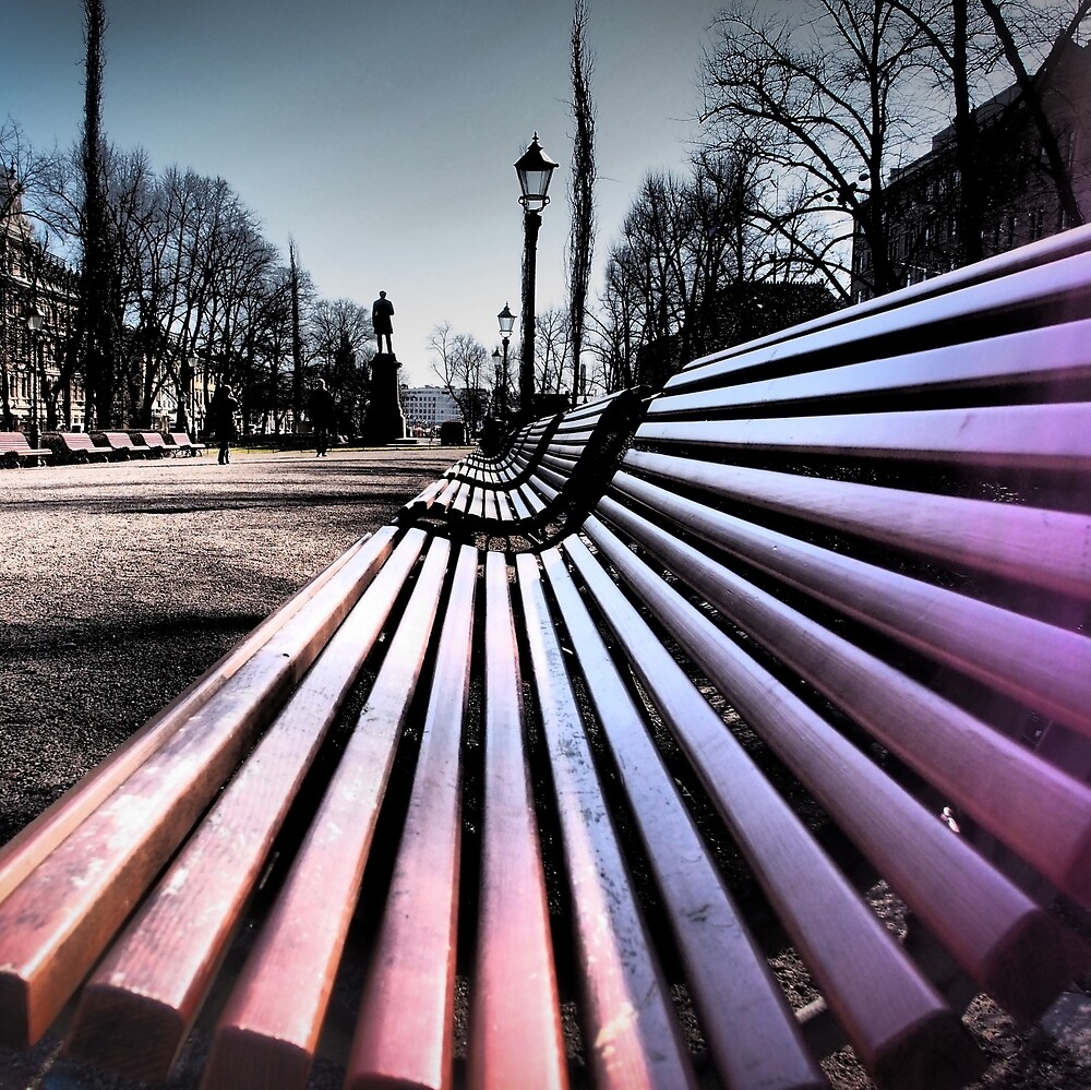 Park Bench  by Laksen