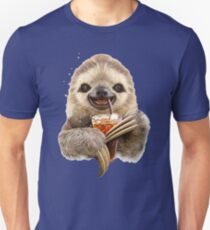 SLOTH & SOFT DRINK Unisex T-Shirt