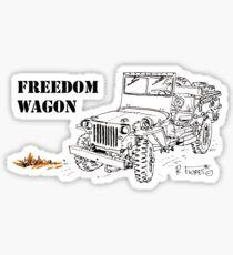 G503 jeep, the Freedom Wagon! (1) Sticker