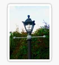 Old Street Lamp at Corcgreggan Mill, Donegal, Ireland Sticker